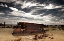 "<p>Year One - ""The Way the Future was Built"" —  Photo by Bombay Beach Biennale</p>"