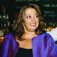Zaha Hadid in 2003
