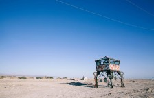"<p>Intergalactic Space Station, Angel Queen"" by Randy Polumbo / Bombay Beach Biennale — Photo by James Frank</p>"