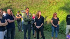 "<p>Paul Petritsch, Nicole Six – Heritage Day 2019 at ""The Pit"", Breitenbrunn, Burgenland, Austria (photo: felix kofler) – archive peter noever</p>"