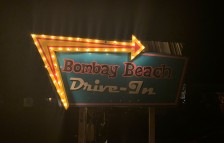 <p>The Bombay Beach Drive In art installation / Bombay Beach Biennale 2019 — archiv peter noever</p>