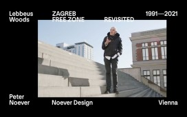 "Videostill of ""Aesthetics of Resistance"", Lebbeus Woods and Vienna / On the occasion of ""Zagreb Free Zone Revisited"", 2021   - archive peter noever"