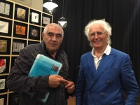 <p>Peter Noever and Luciano Benetton at the opening of Imago Mundi – Luciano Benetton Collection</p>