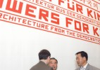 "<p>Opening of the exhibition ""Flowers for Kim Il Sung"", MAK, Vienna, 18 May 2010 – © Peter Kainz — archive peter noever</p>"