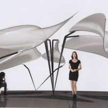 <p>Folias – Kinetic Prototype, study by the students of studio zaha hadid, 2015</p>