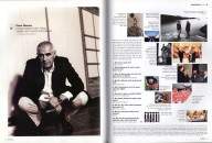 <p>H.O.M.E. - design magazine vienna 10/2006  /  The 10 questions answered by Peter Noever with 10 titles of exhibitions designed by him - archive peter noever</p>