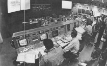 <p>NASA control room in Houston, 1969</p>