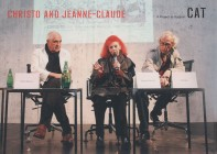 <p>CHRISTO and Jeanne-Claude with Peter Noever at the press conference at CAT Contemporary Art Tower, Vienna, 15 April 2009. The artists have long advocated and supported the CAT project for the Anti-Aircraft Tower in Arenbergpark, Vienna 3.</p>