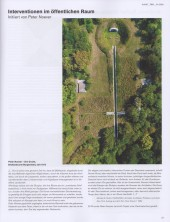 "<p>The Pit, Peter Noever's land art project (aerial view) with a text by Michael D. Sorkin (published in ""fair"" magazine 01/2020)</p>"