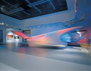 "<p>Exhibition ""ZAHA HADID. Architecture / Ice-Storm"" (© archive peter noever)</p>"
